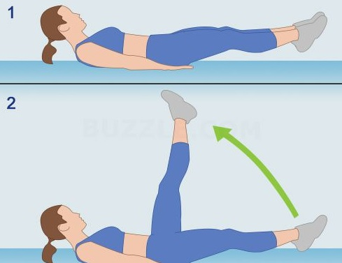 FLUTTER KICK is important in workout