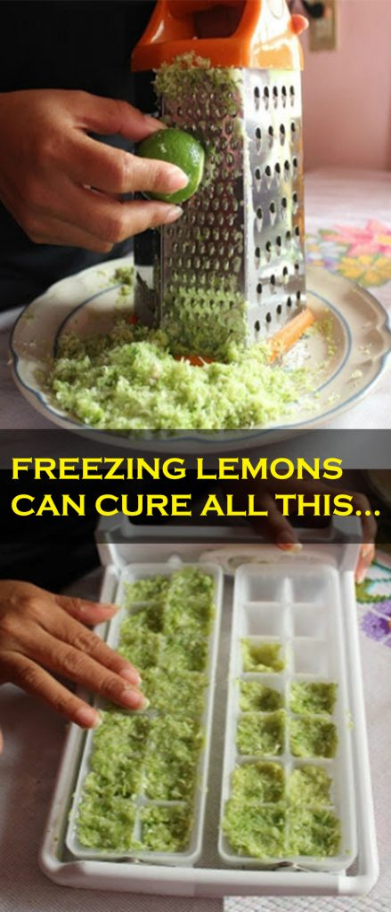 Holy God! If I Had Known Before .. Freezing Lemons Can Cure All This
