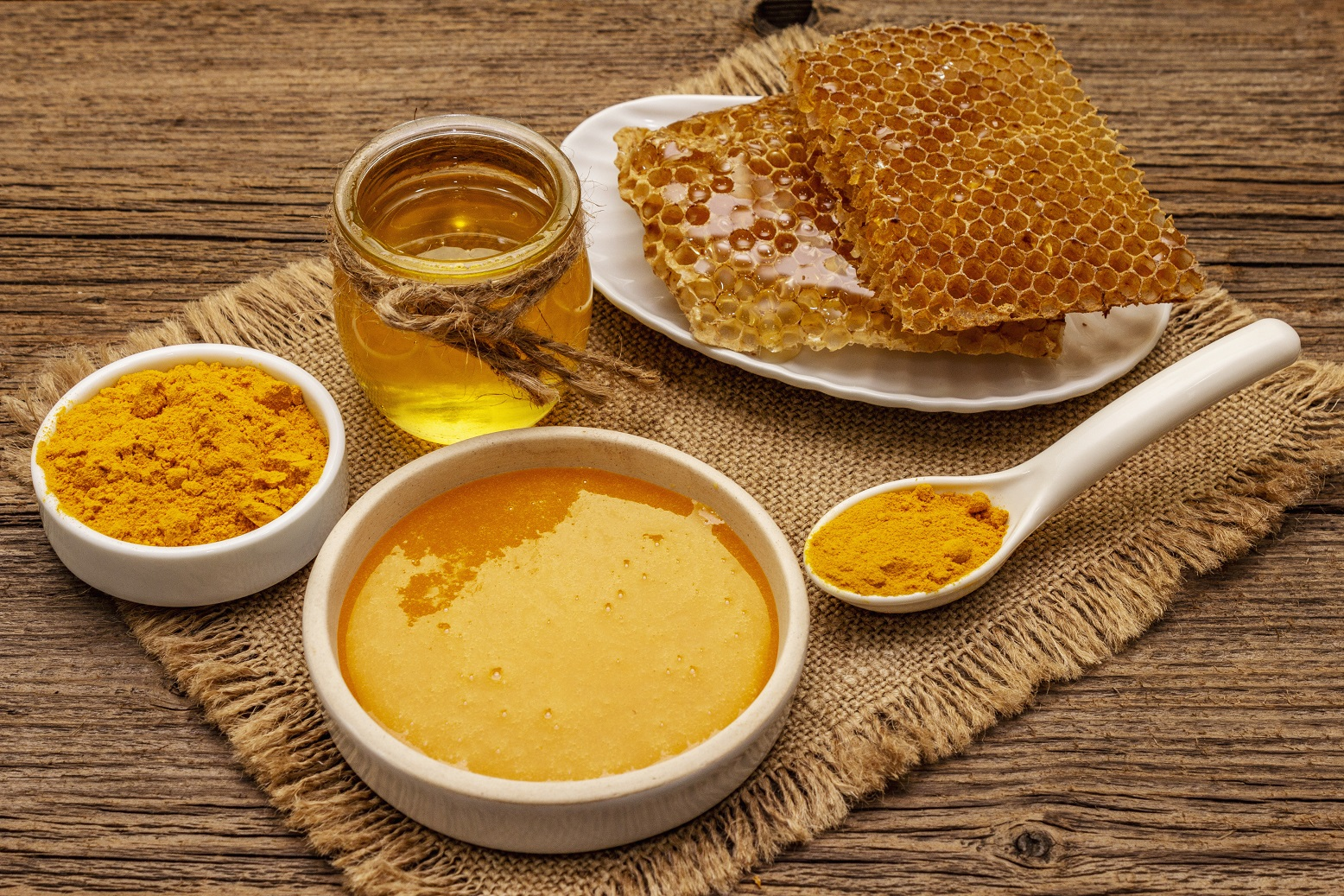 Honey with Turmeric