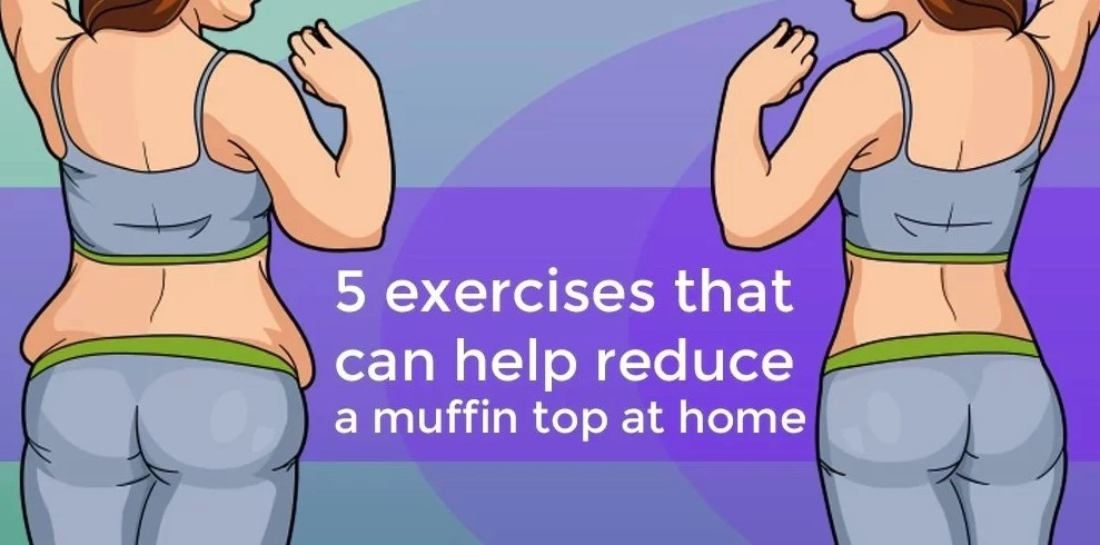 exercise reduce a muffin top