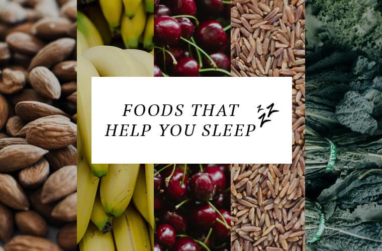 Food help sleep